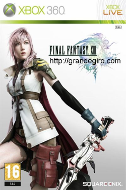 Final Fantasy XIII XBOX360, Acão, RPG